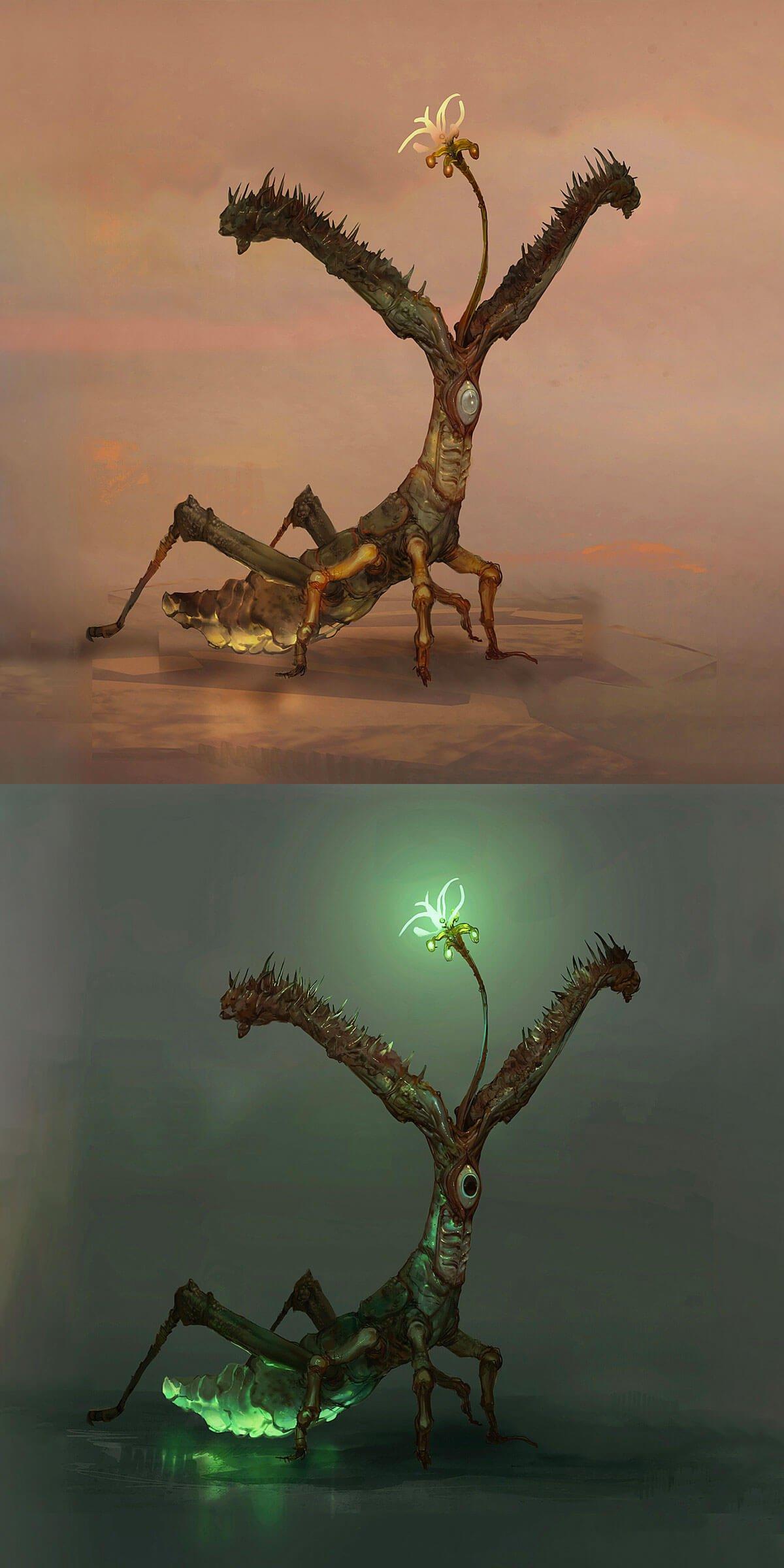 Mars TT - Locust by Camille Bachmann