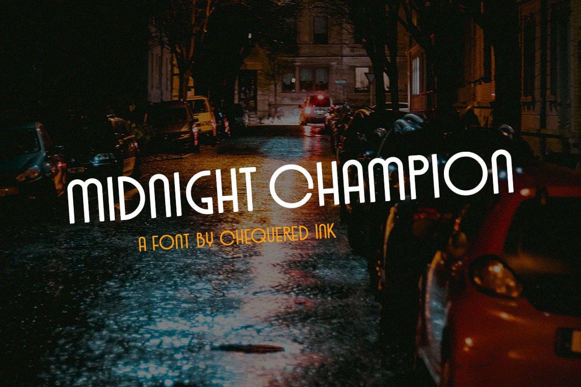 Midnight Champion Font