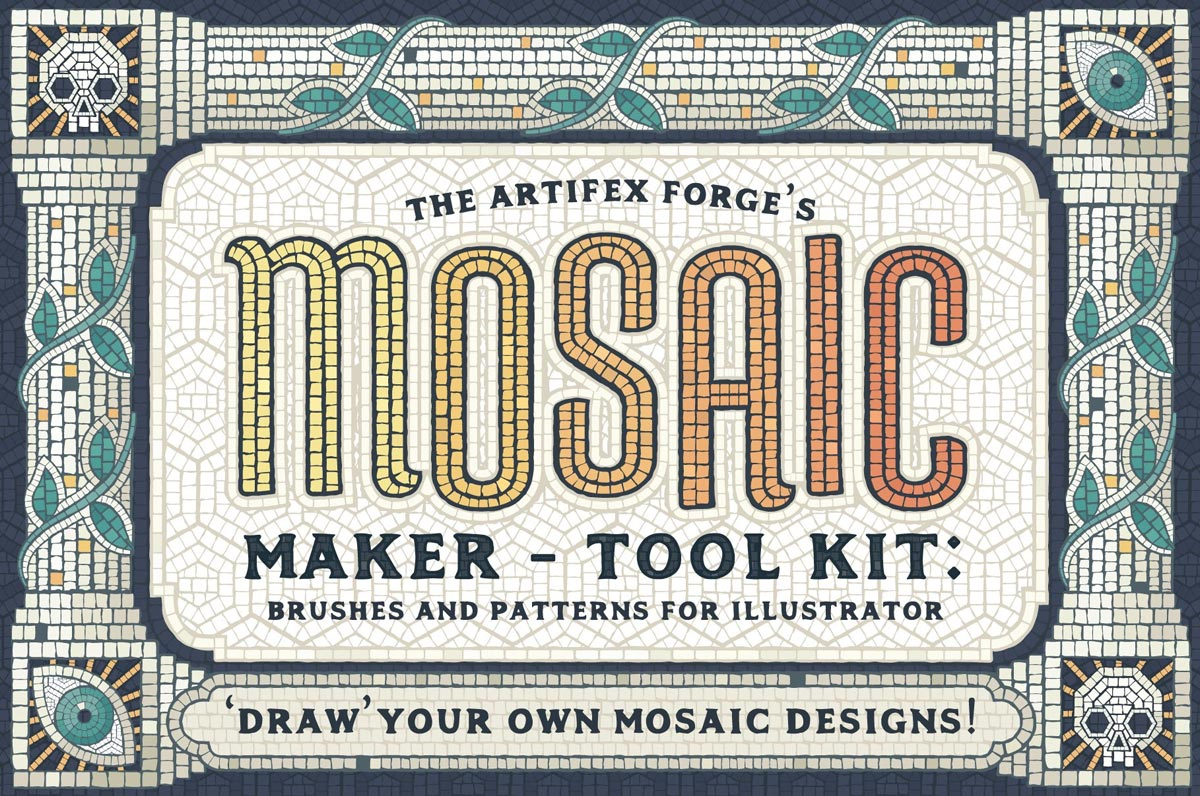 Mosaic Maker Brushes & Patterns