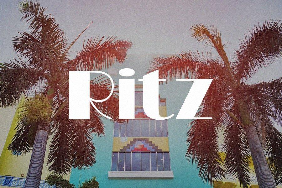 Ritz FLF Font