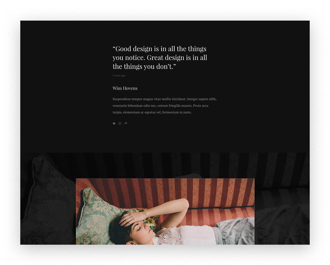Royal Content Focused Theme