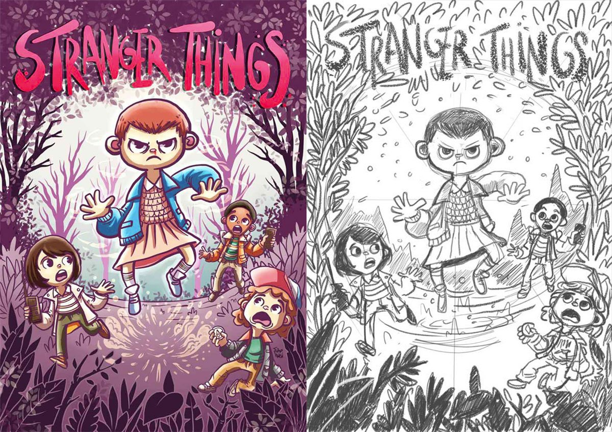 Stranger Things by Tiago Holsi
