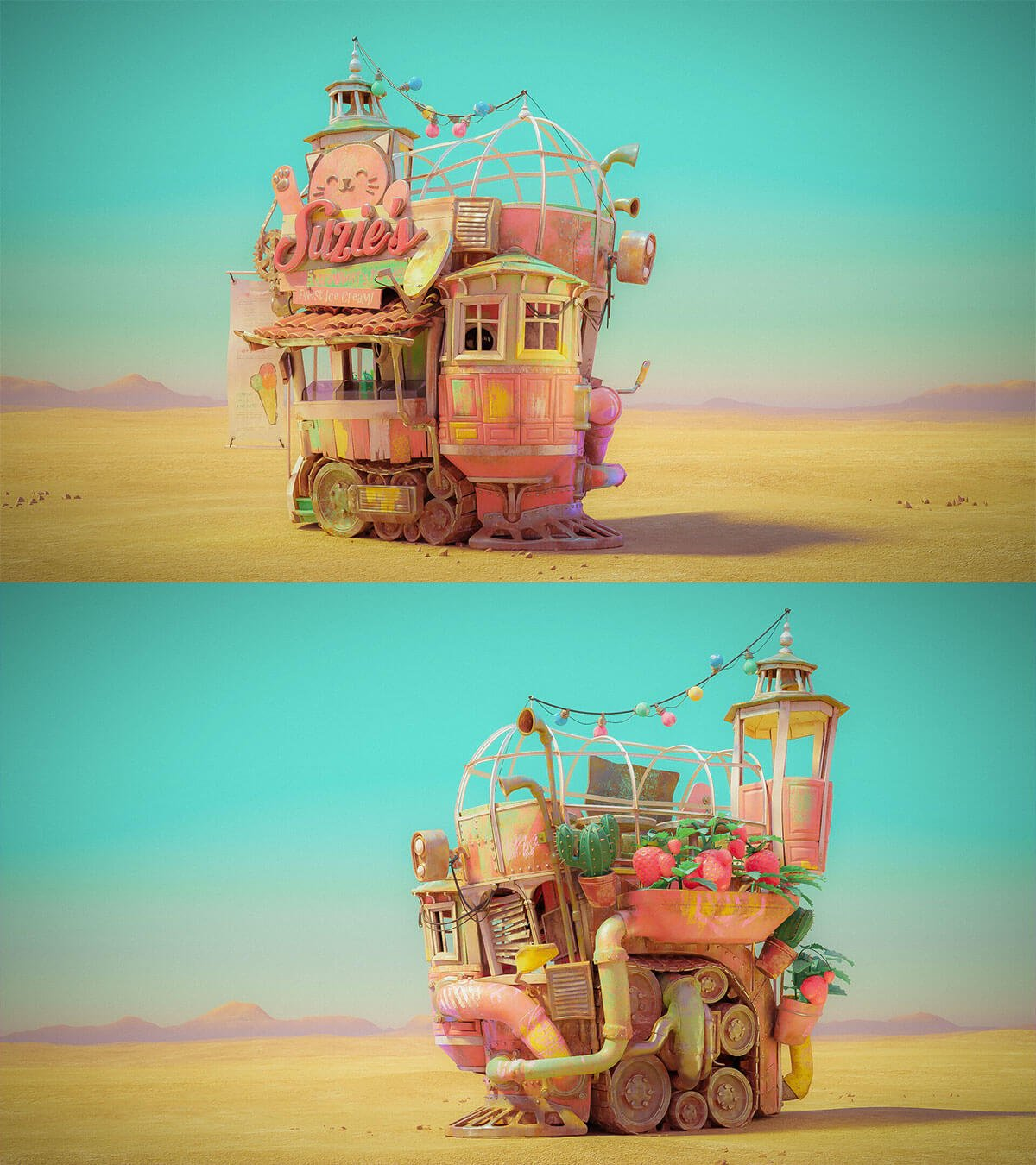 Suzie's Strawberry Paradise by Lukas Walzer