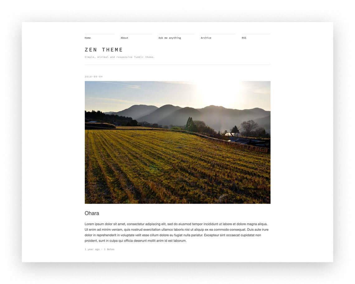 ✒️ 15 Simple Tumblr Themes for Writers: Free & Premium