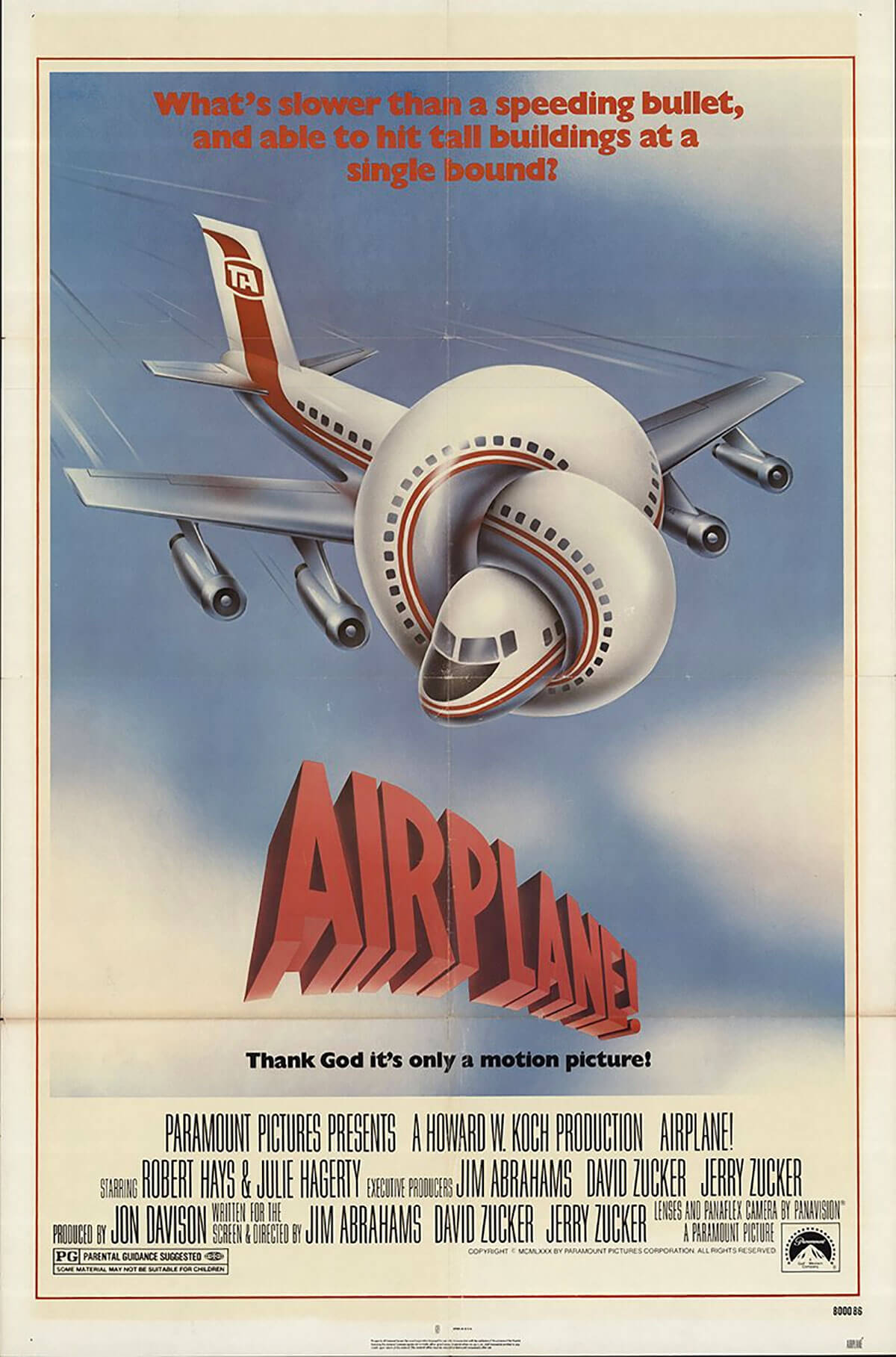 Airplane, 1980