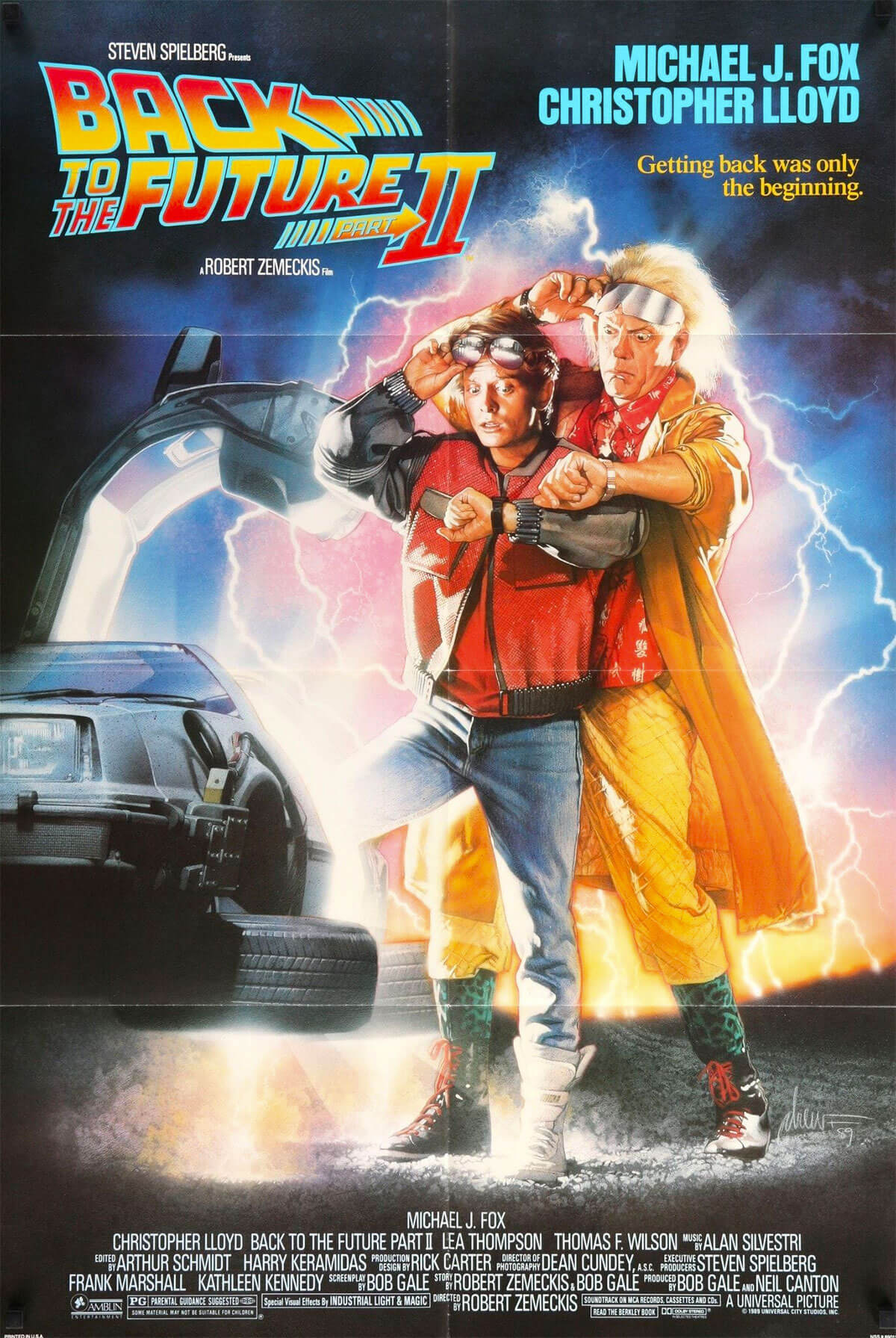 Back to the Future Part II, 1989