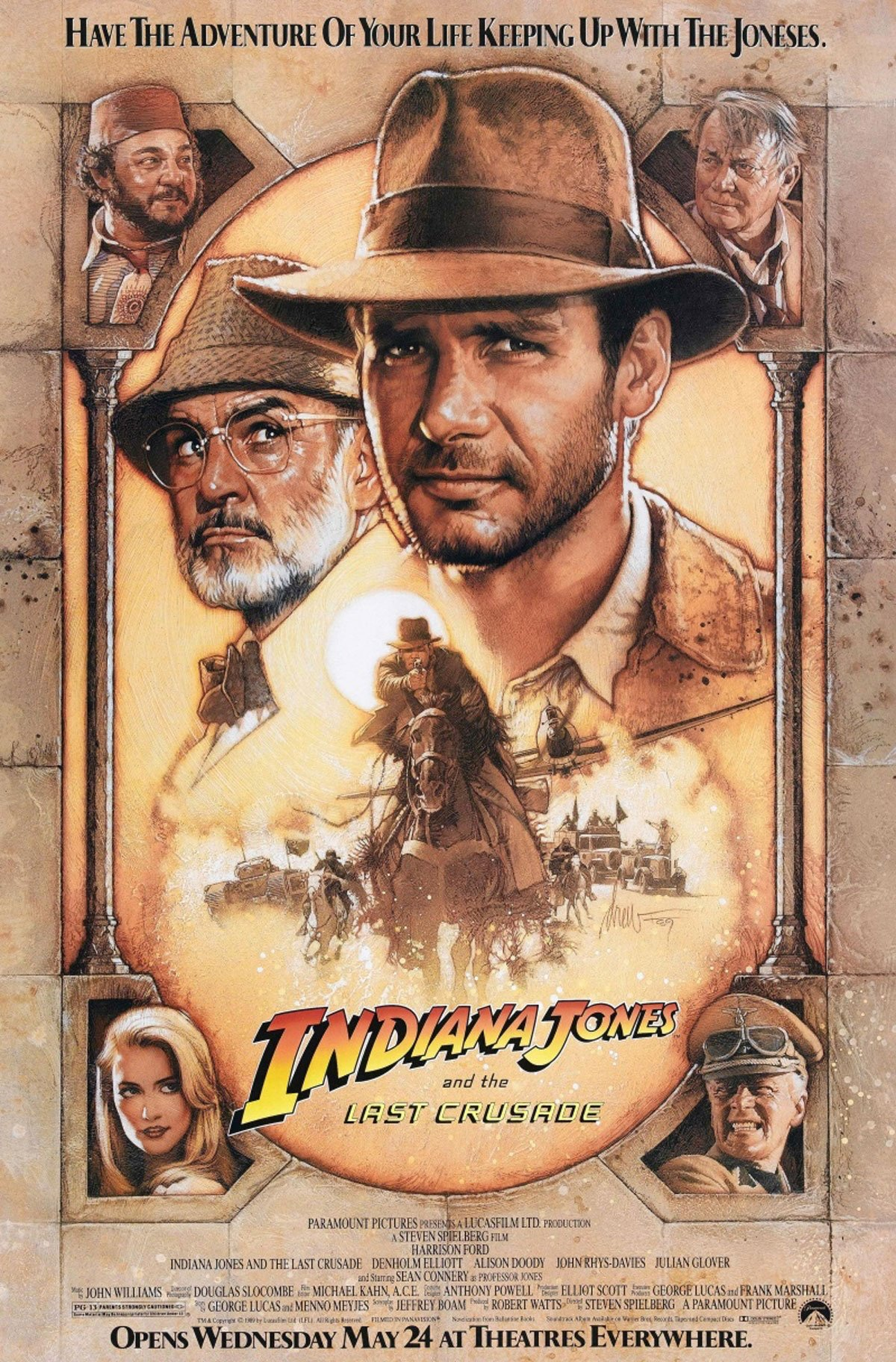 Indiana Jones and the Last Crusade, 1989