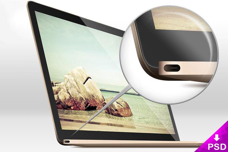 MacBook Air Free Mockup
