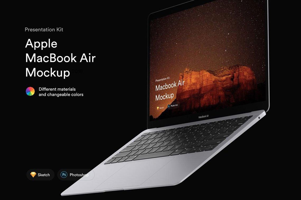 MacBook Air Mockups