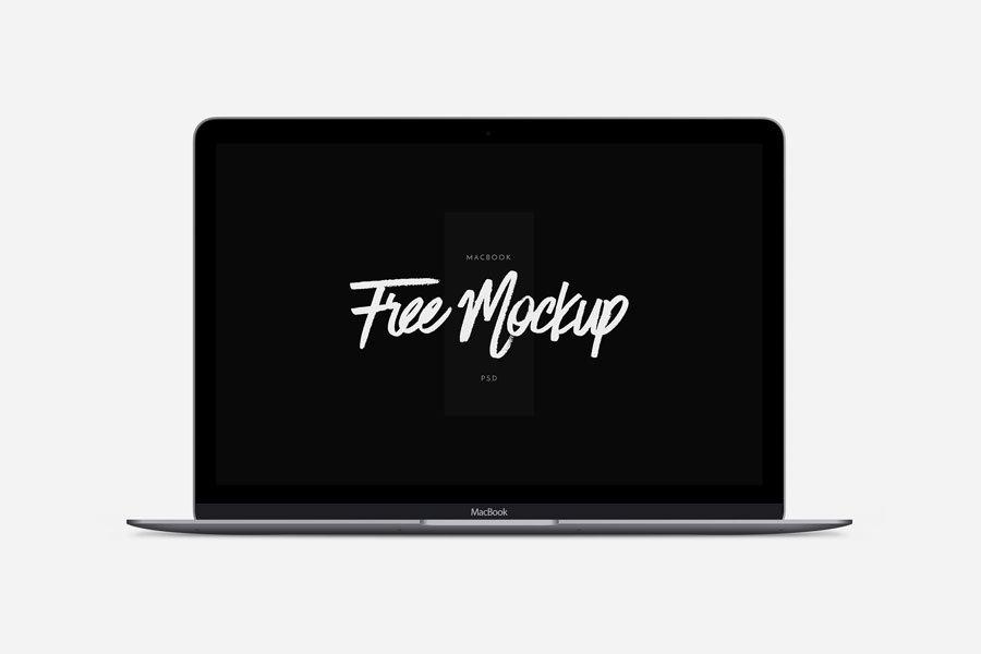 New MacBook Free Mockup