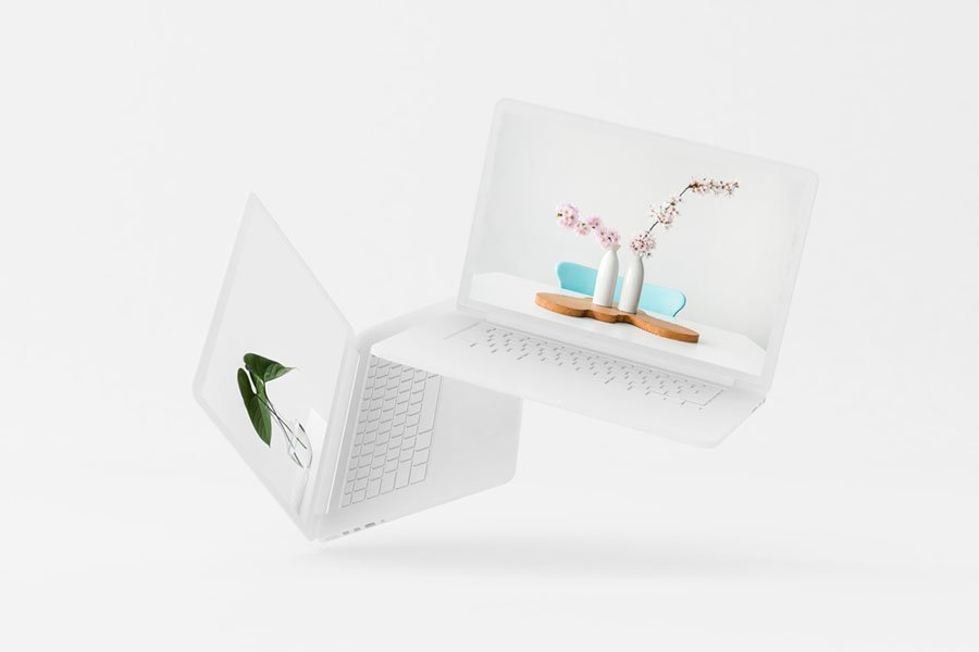 Pro Laptop Mockup
