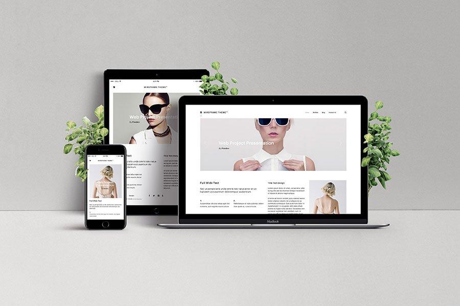 Screen Showcase PSD Mockups