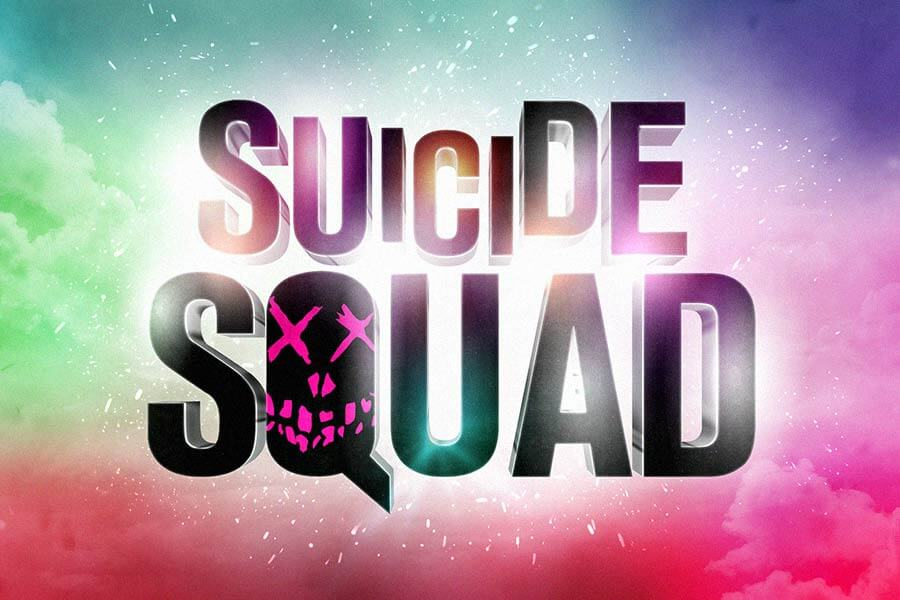 Suicide Squad Text Effect