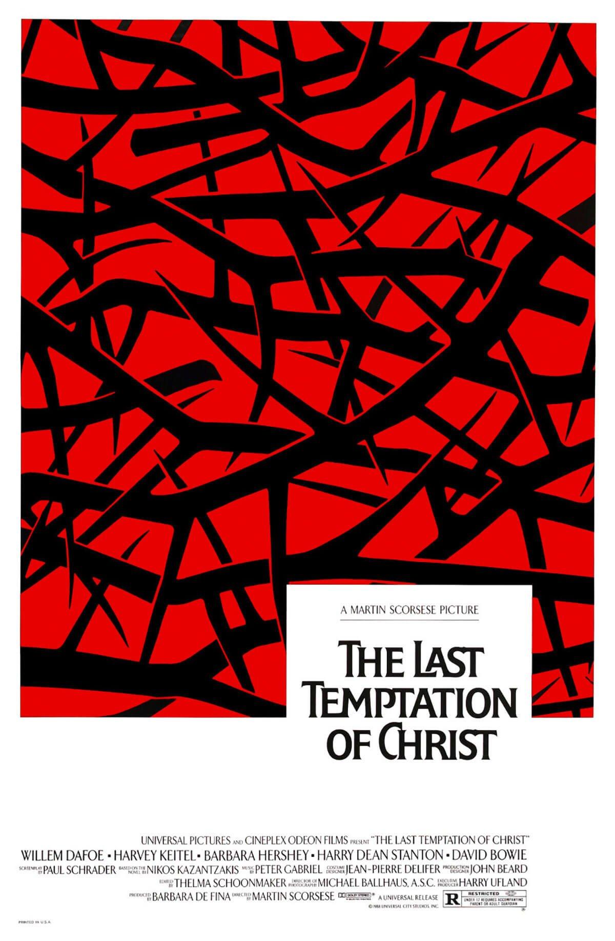 The Last Temptation of Christ, 1988