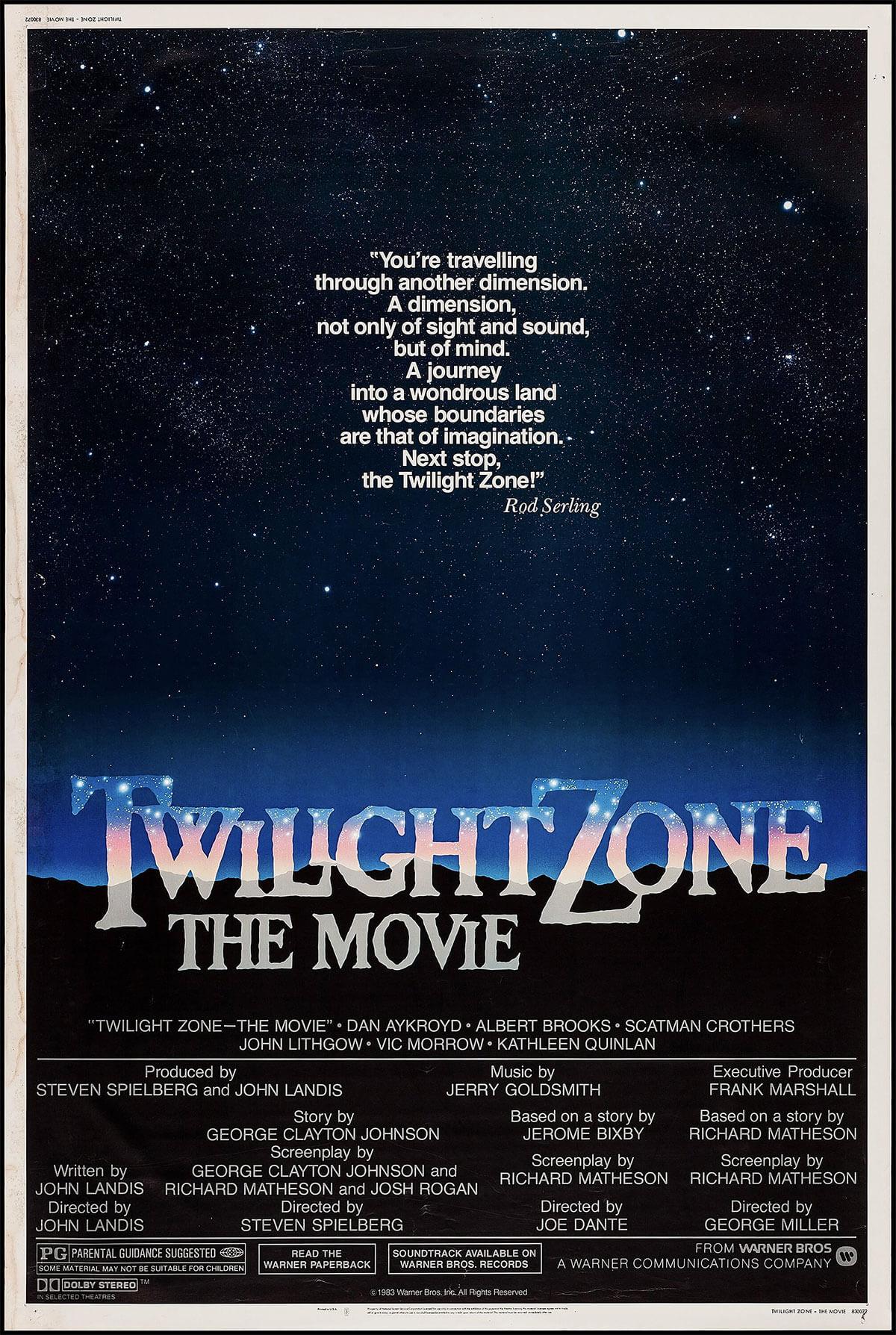 Twilight Zone: The Movie, 1983