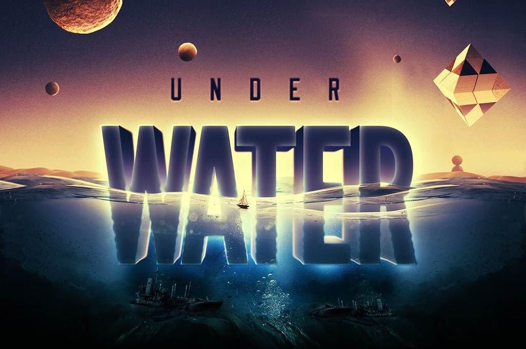 Underwater Text Effect