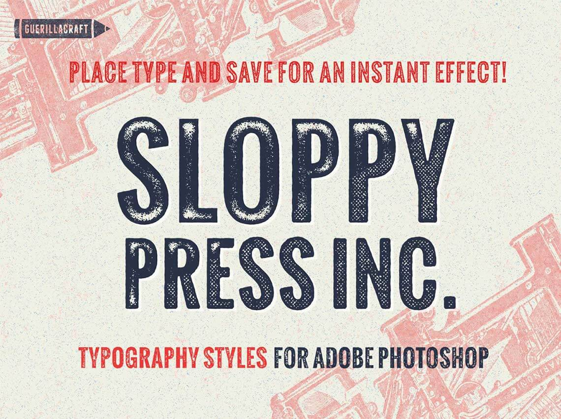 Vintage Photoshop Layer Styles