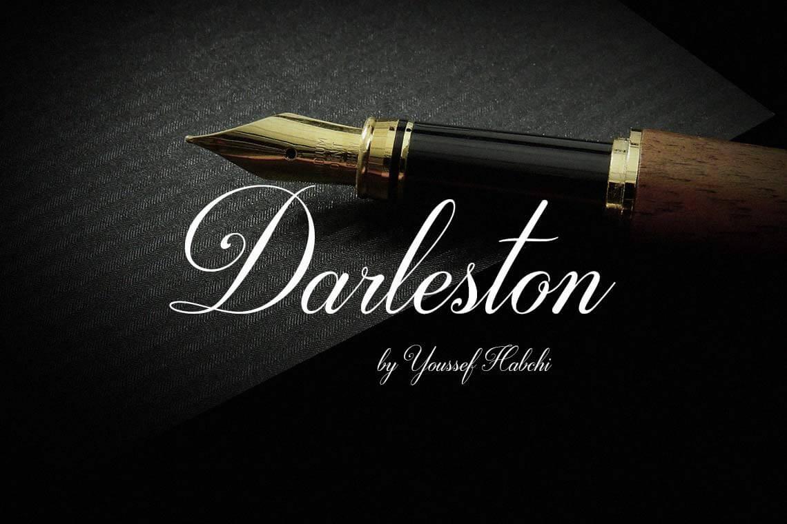 Darleston Hand Lettering Font