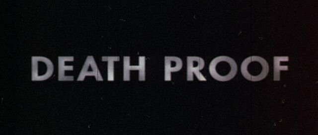Death Proof Font