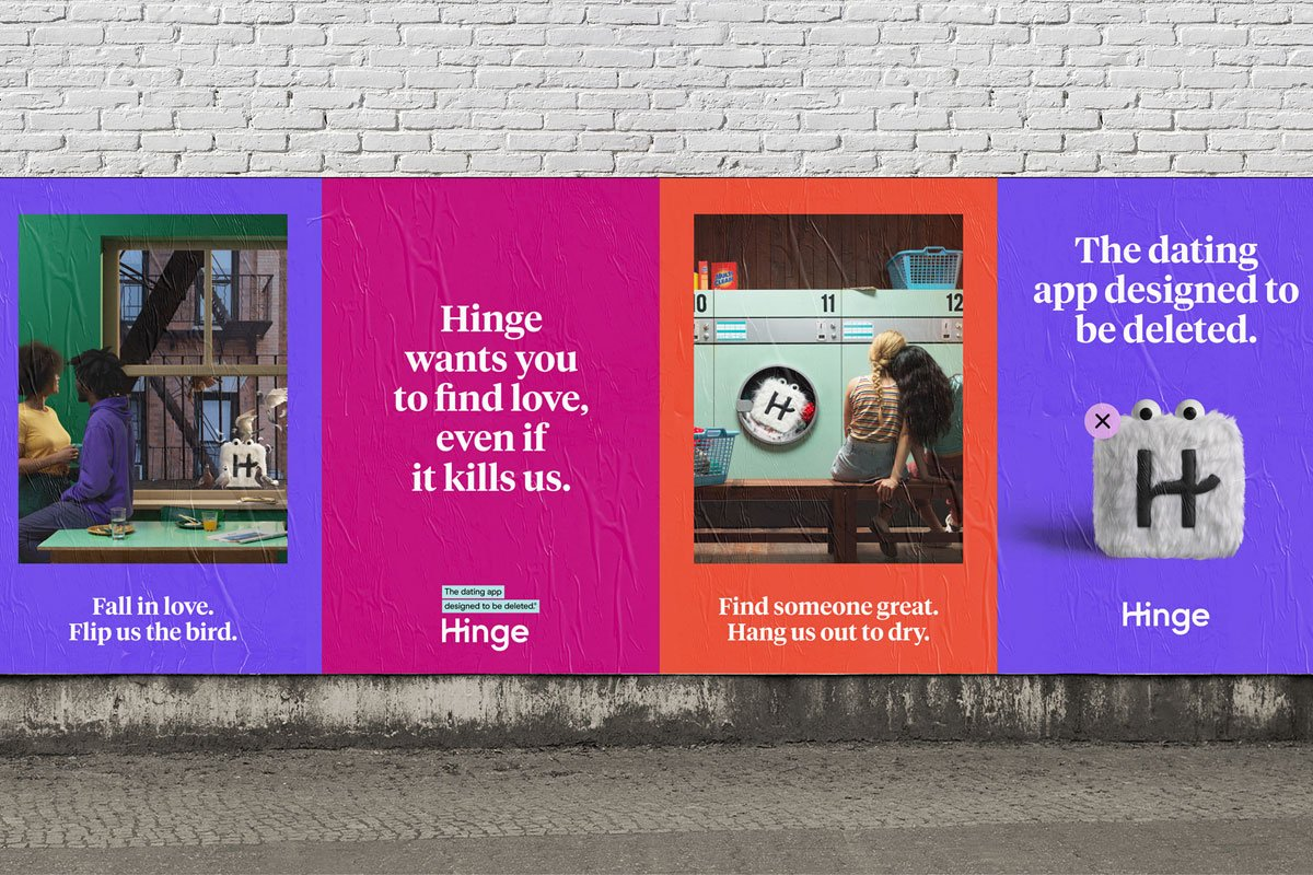 Hinge Dating App Branding Design