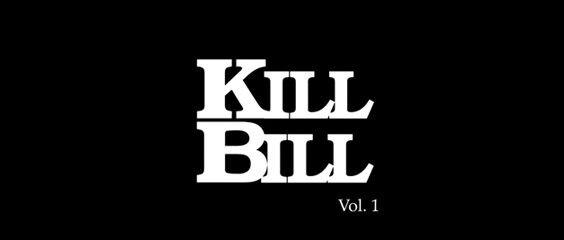 Kill Bill Font