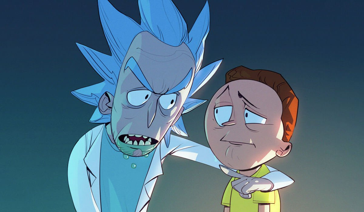 Rick and Morty Fan Art by Max Grecke