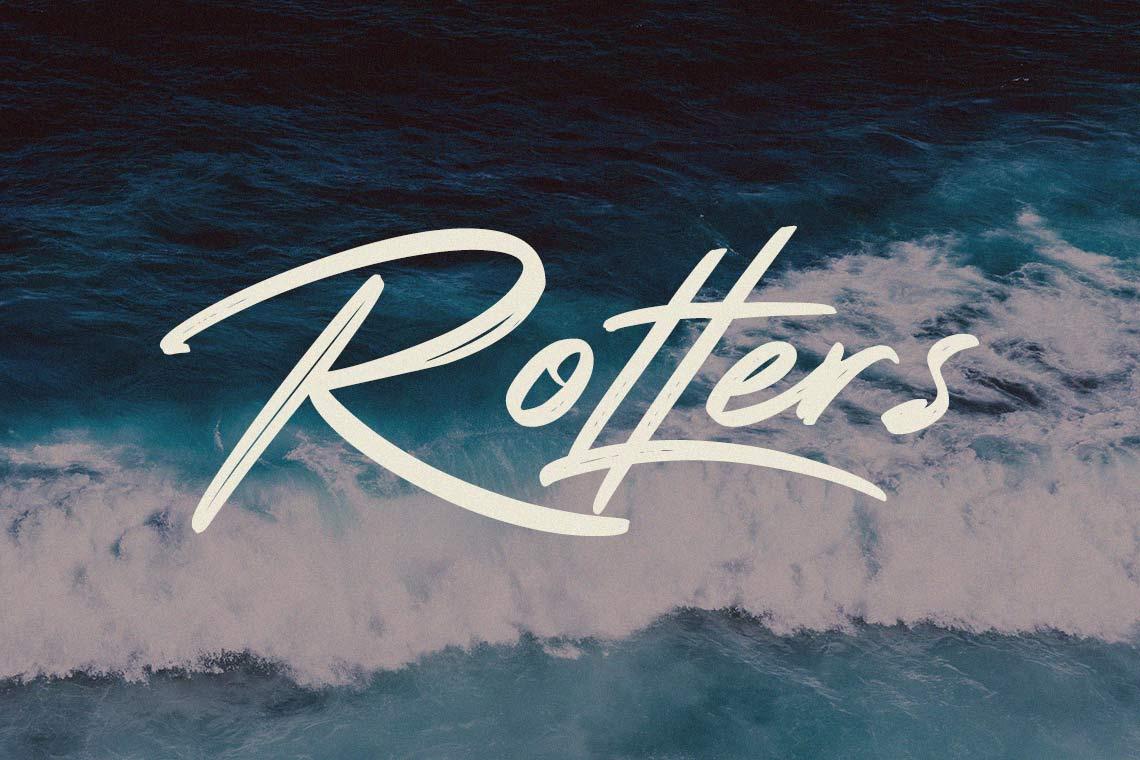Rotters Handbrush Font