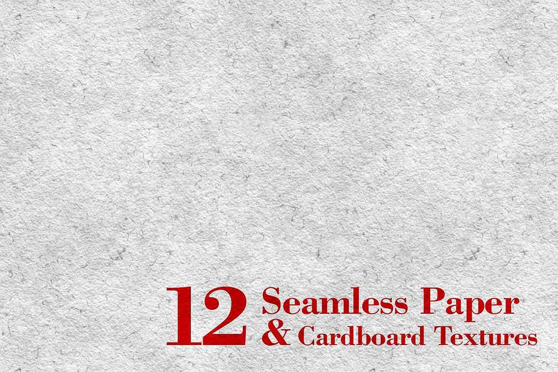 12 Seamless Paper & Cardboard Textures