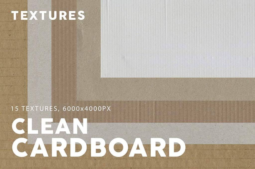 Clean Cardboard Texture Images
