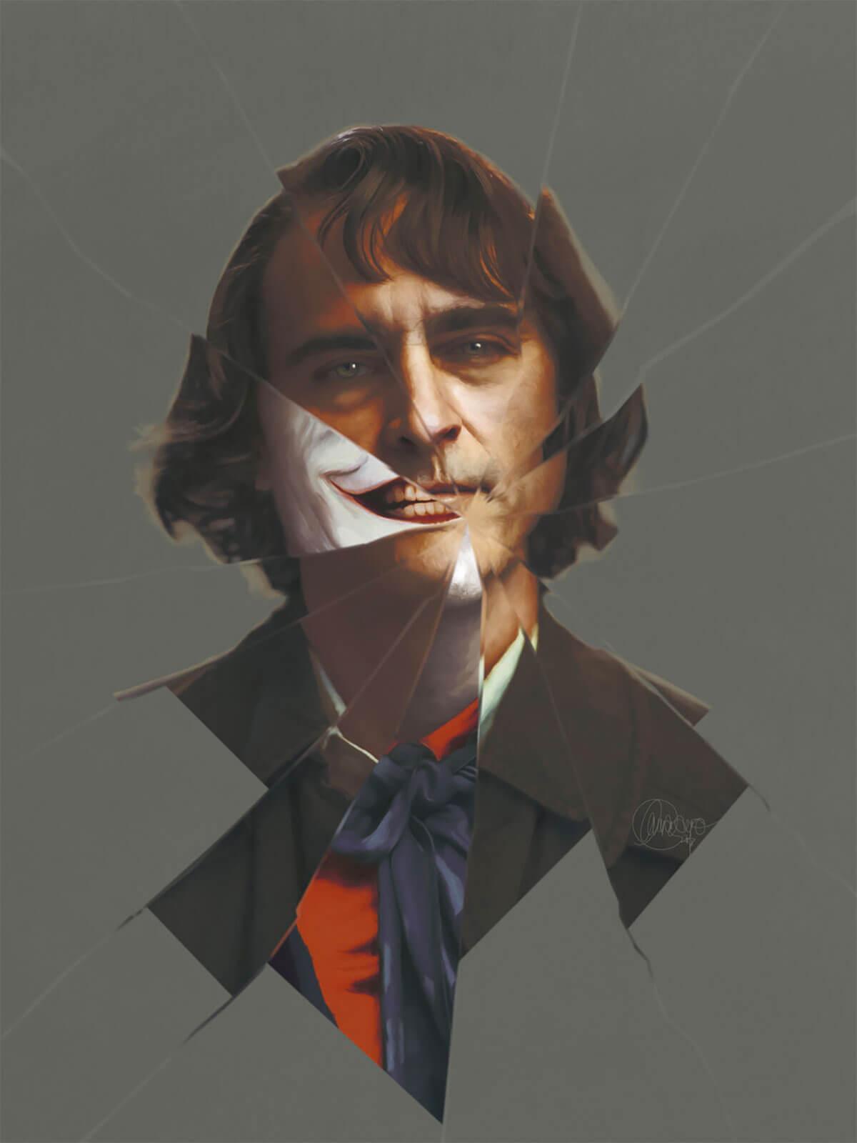 Joaquin Phoenix as The Joker by Laura Racero