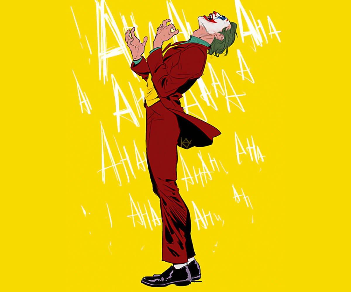 Joker Art by Kay