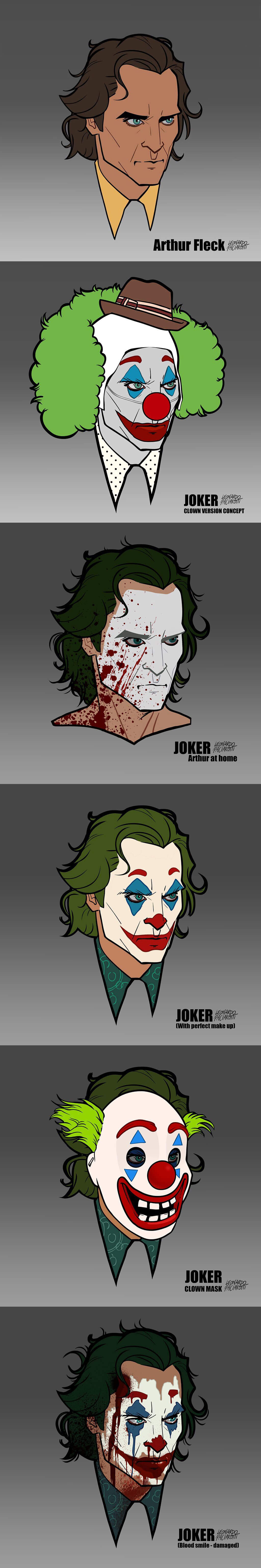 Joker Art by Leonardo Paciarotti