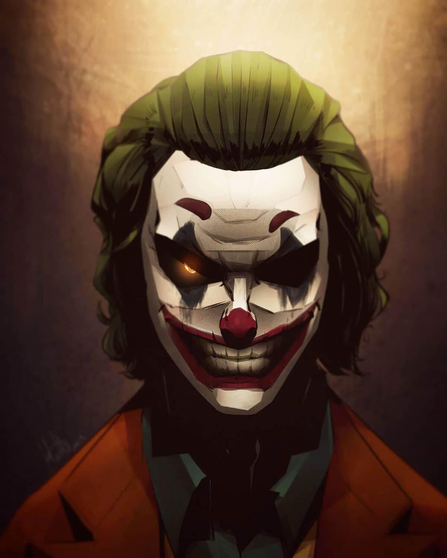 Joker Art by Matteo Meloni