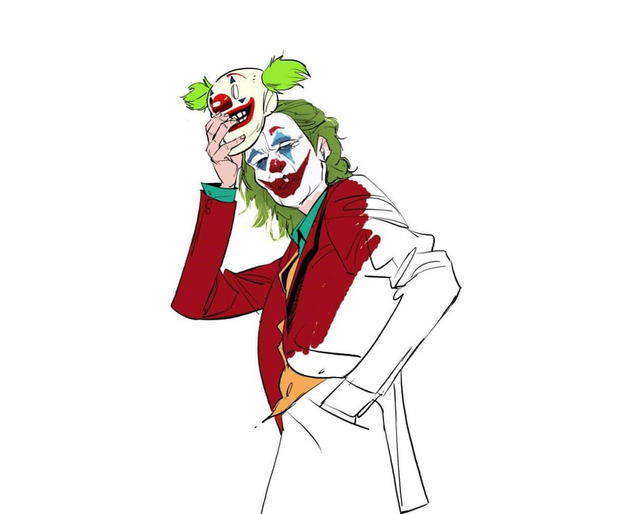 Joker Art by Rossi Gifford