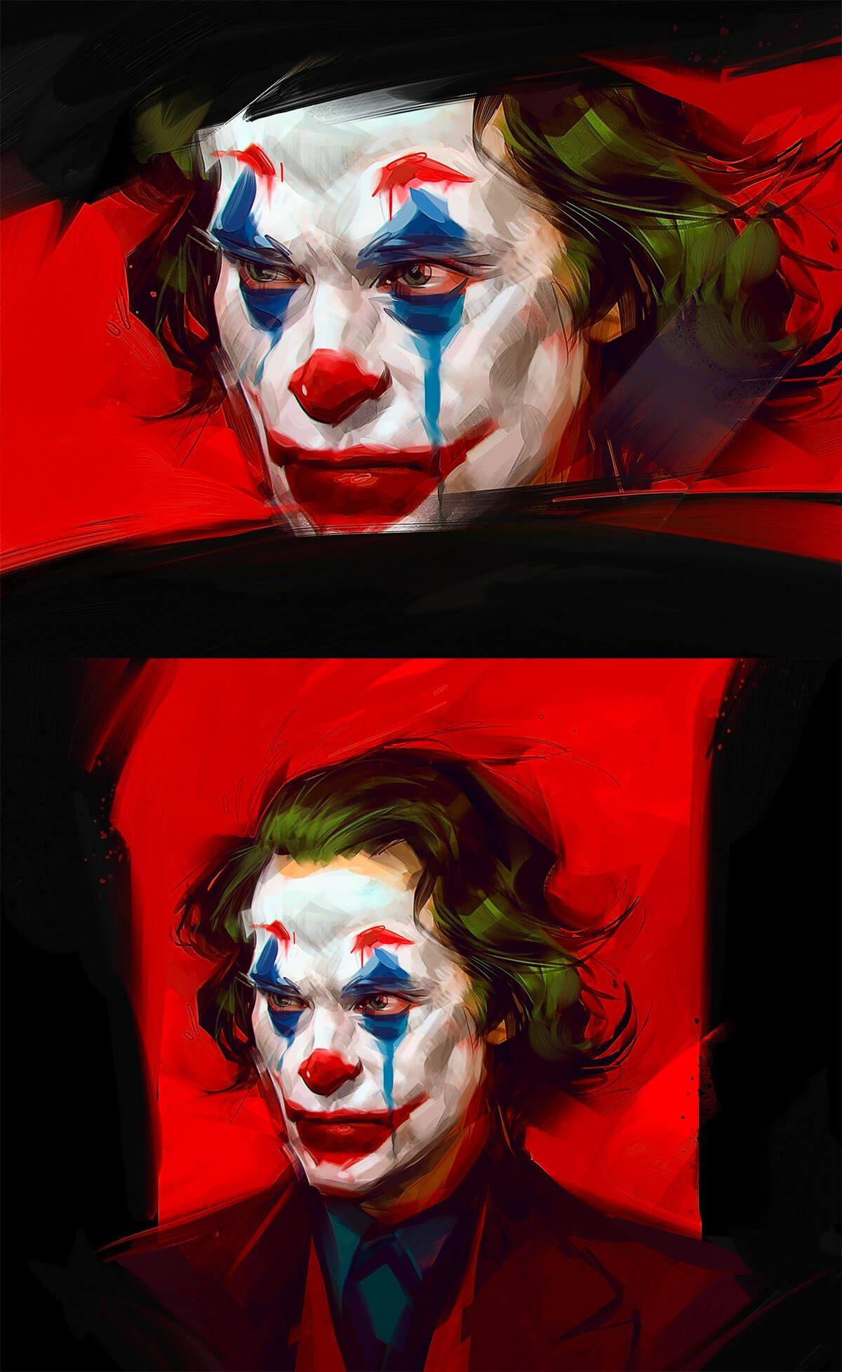 Joker Fan Art by Viktor Miller-Gausa