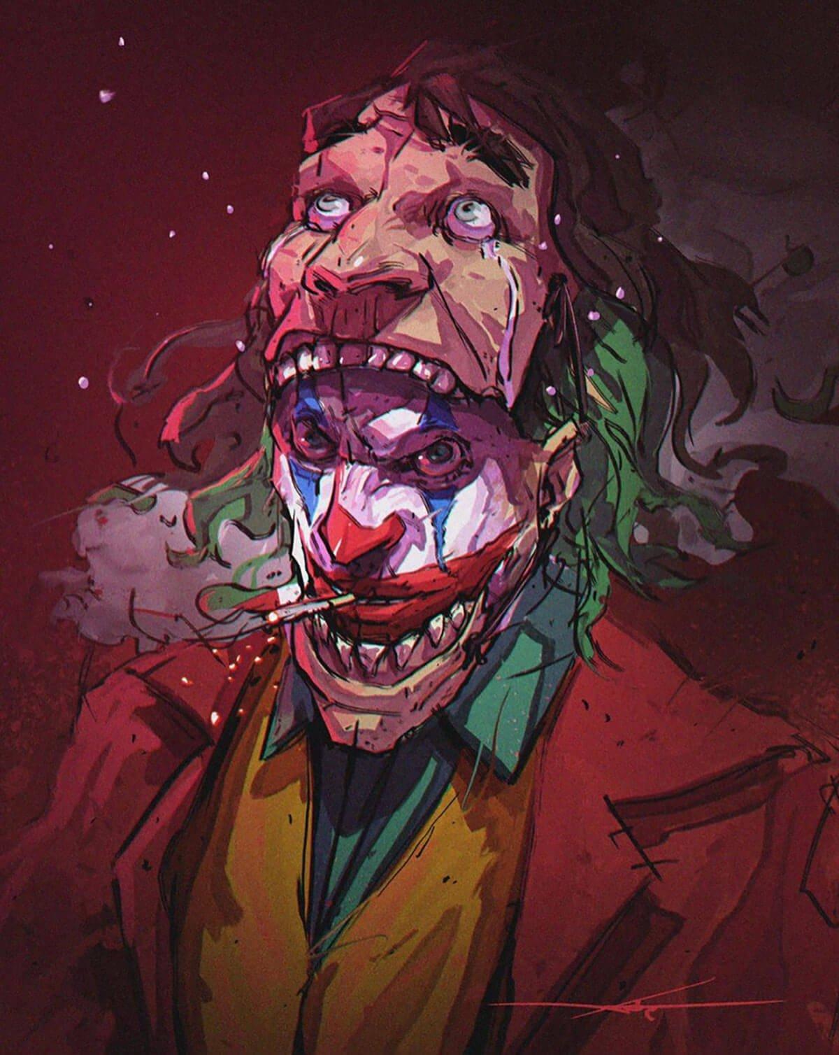 Joker by Warrick Wong