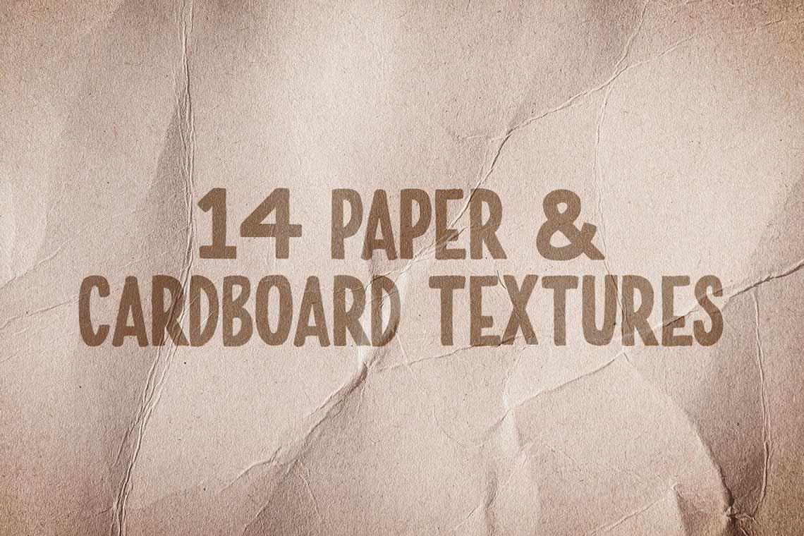 Paper & Cardboard Texture Pack