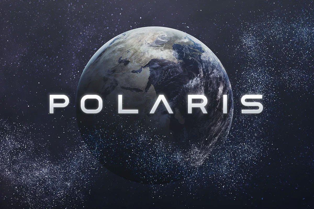 Polaris Sci-Fi Font
