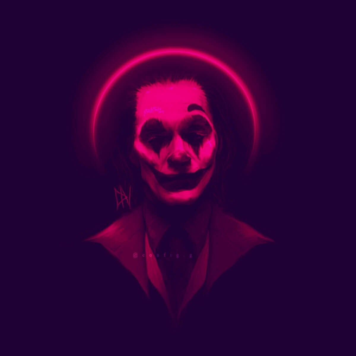 The Joker Art by Thomas .J