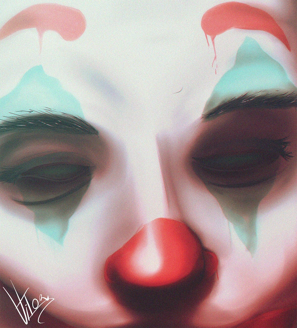 The Joker Art by Vitor Cachoeira