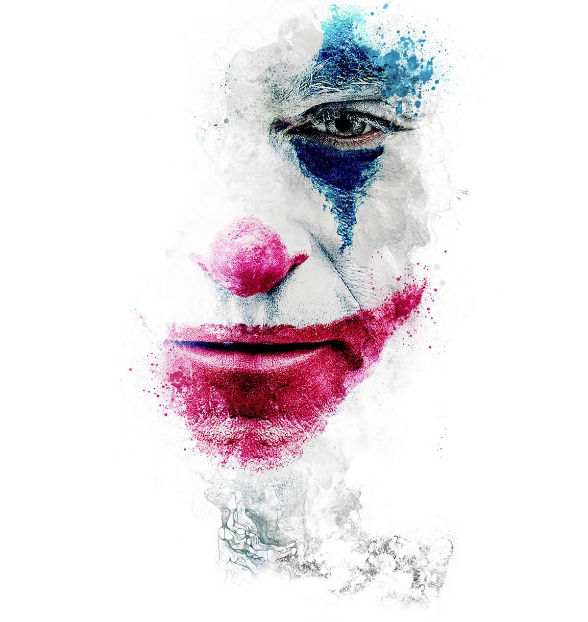 The Joker Fan Art Poster by Mr Cup : Barral Fabien