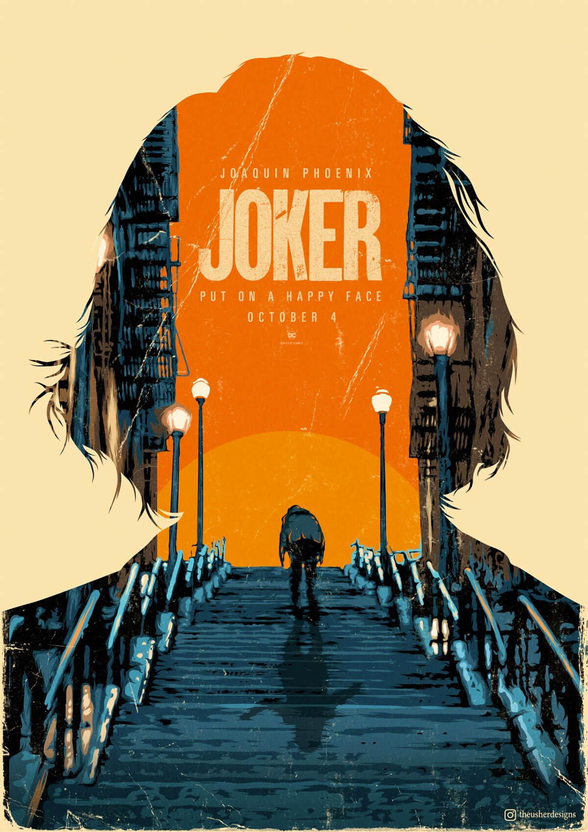 The Joker Poster by Sorin Ilie