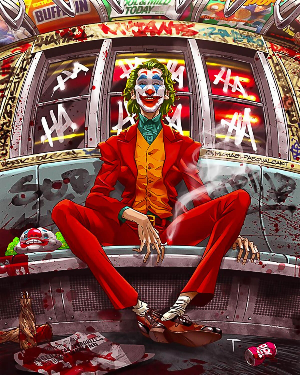 The Joker by Michael Pasquale