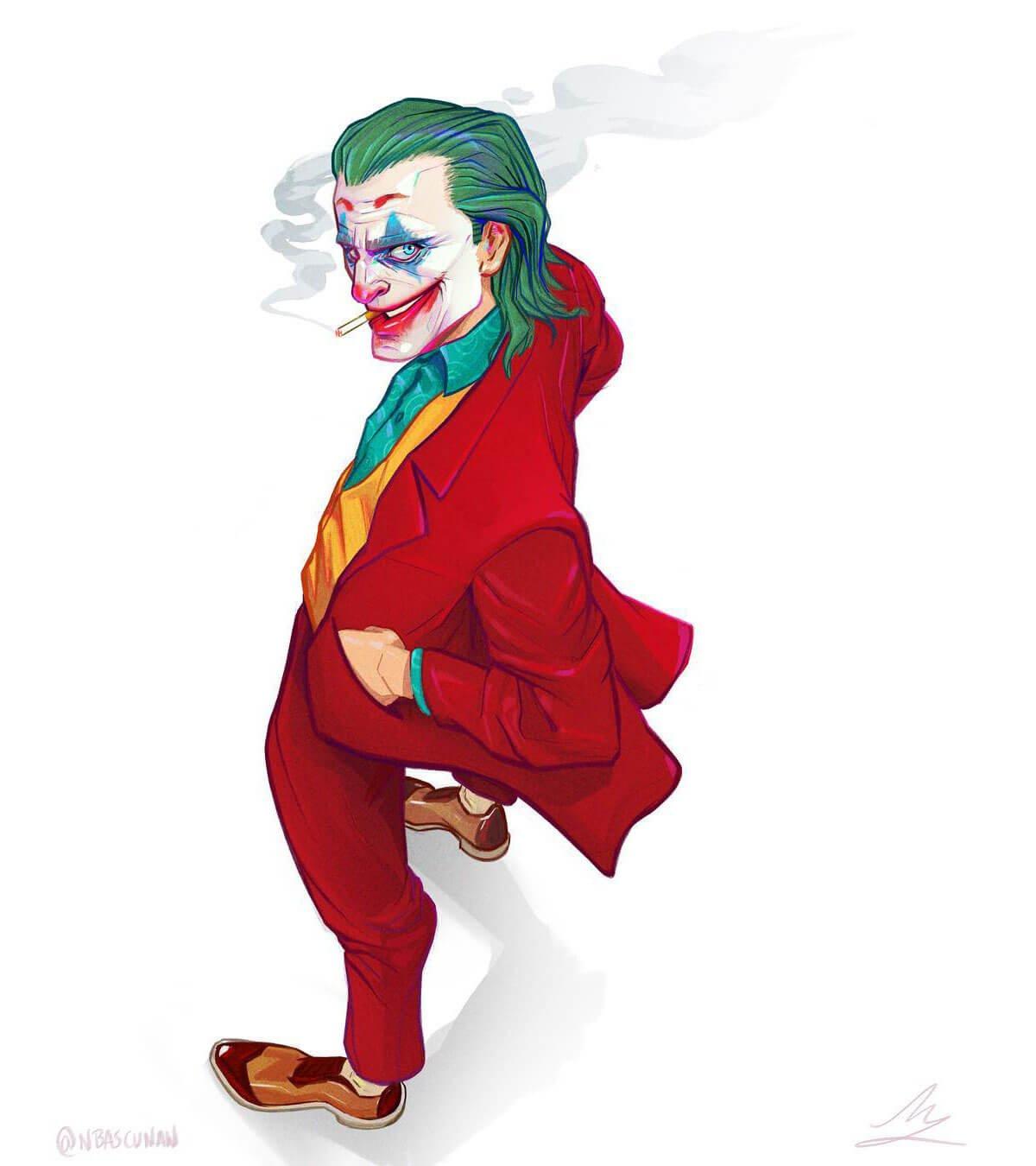 The Joker by Nico Bascuñán