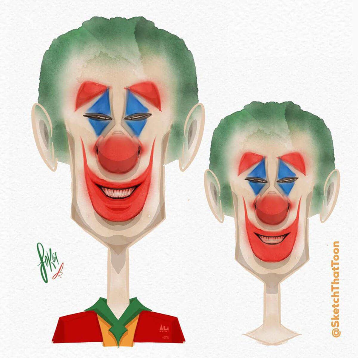 The Joker by Sketchthattoon