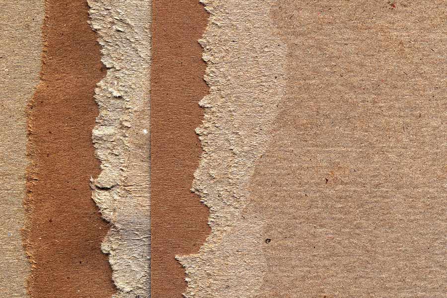Torn Cardboard Paper Texture