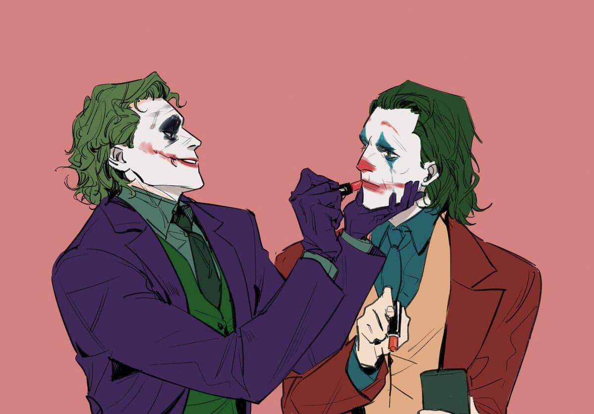 Two Jokers by Ian