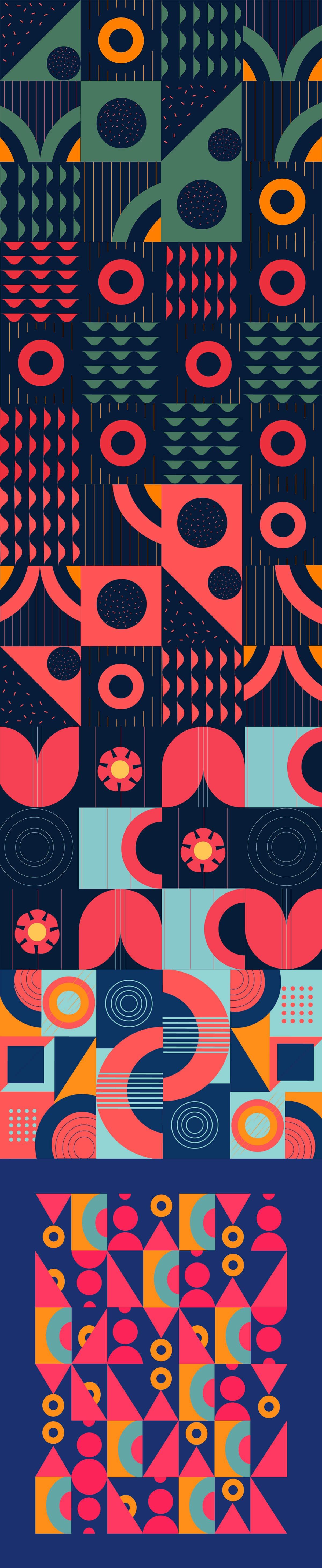Abstract Poster by Sophie Tsankashvili