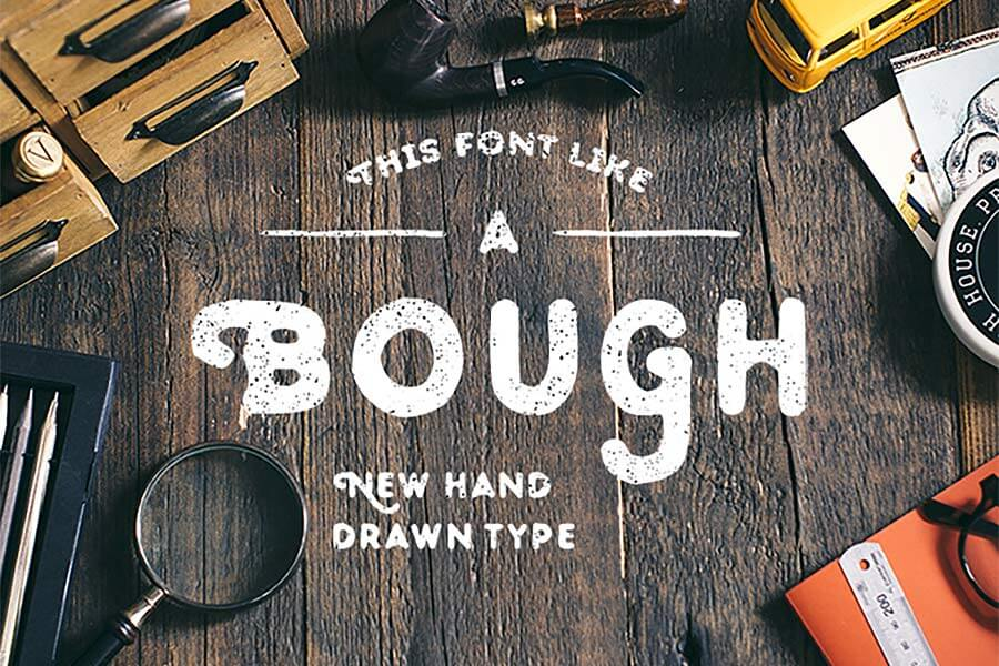 Bough Hand-Drawn Font