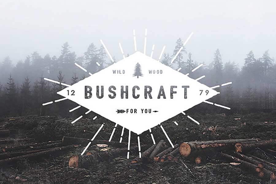Bushcraft Retro Font Family